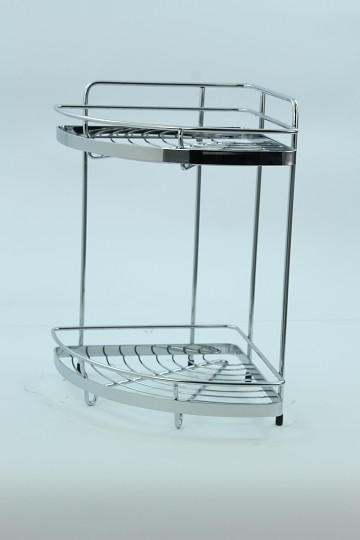2 Shelf Corner Caddy
